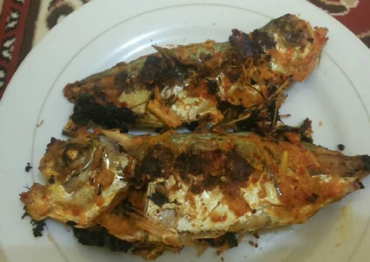 Resep membuat Ikan laut Bakar teflon, sambal kecap istimewa
