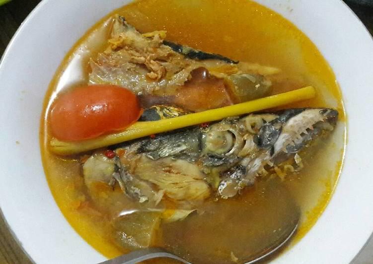Resep: Rajang ikan laut (sop ikan)