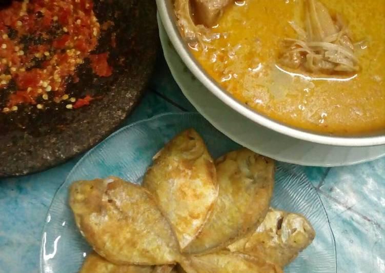 Cara memasak Ikan laut goreng gurih