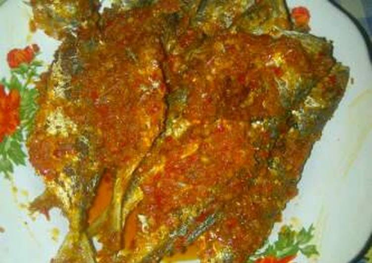 Ikan laut sambal pedas