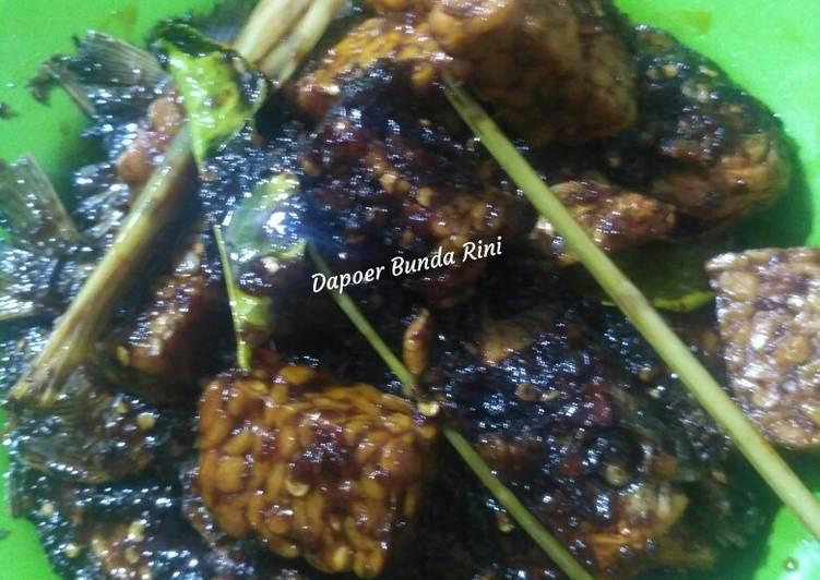 Cara memasak Bawal tempe kecap pedas manis (Dapoer Bunda Rini) istimewa