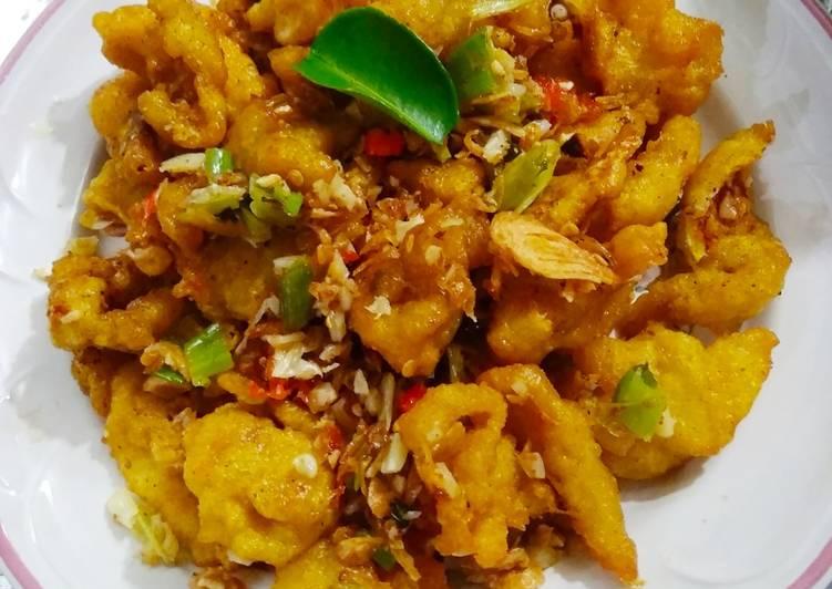 Resep: Kakap popcorn Bumbu bawang