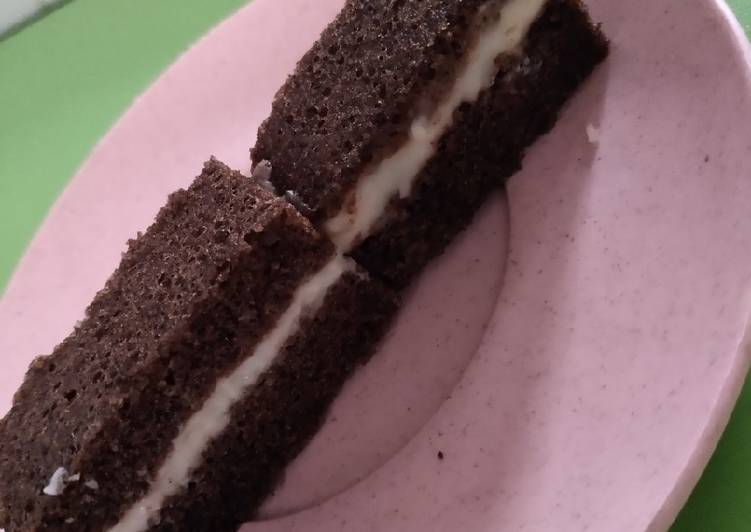 Resep: Bolu ketan hitam kukus cheese cake