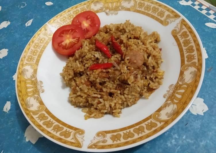 Resep: Nasi Goreng Jawa Pedas yang menggugah selera