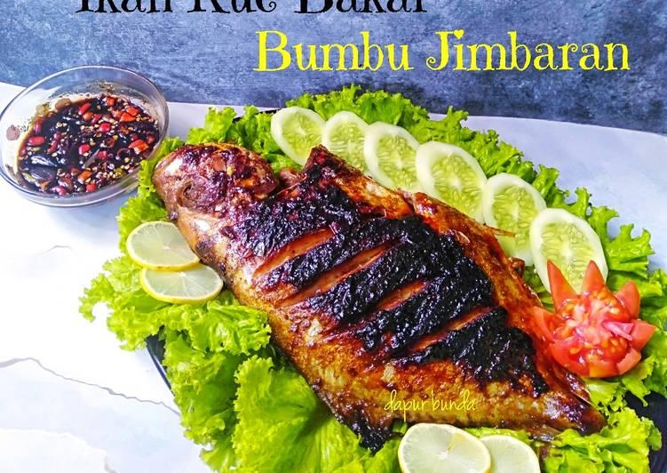 Resep: Ikan kue bakar bumbu Jimbaran