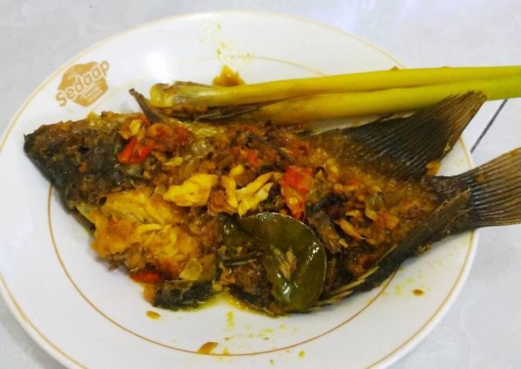 Resep: Ikan Mujair/Nila Nyatnyat khas Bali