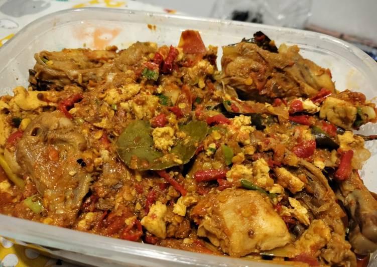 Resep Ayam & Tahu Bumbu Bali