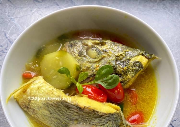Resep: Sup Kepala Ikan Bali ala Eonni Ivy