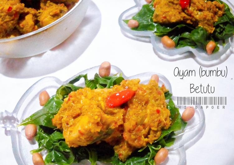 Resep: Ayam (bumbu) Betutu