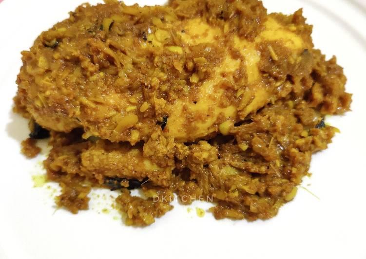 Resep Ayam Betutu (versi bakar)