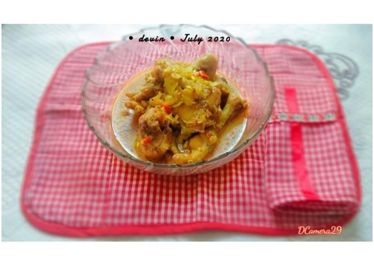 Resep: 33. Paha & Ceker Ayam Betutu