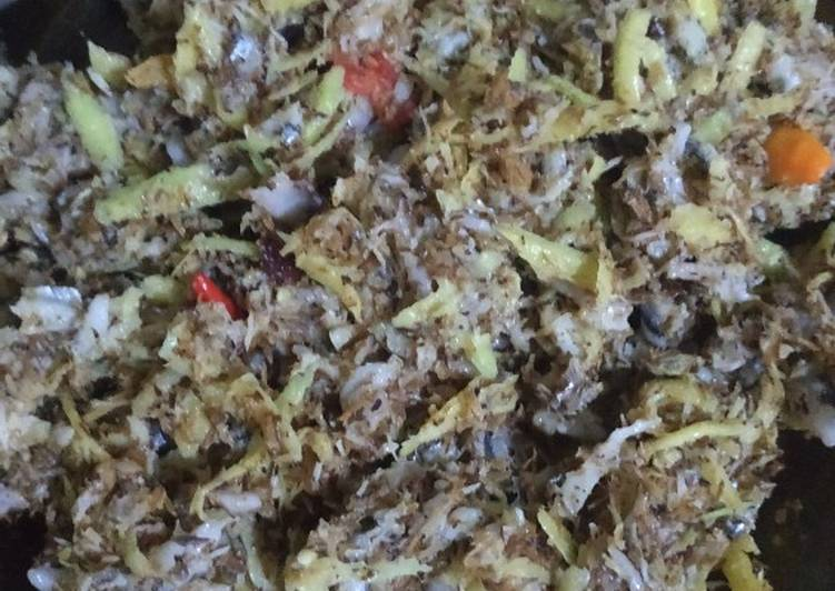 Resep: Lawa' / lawara / ikan teri basah (mairo)