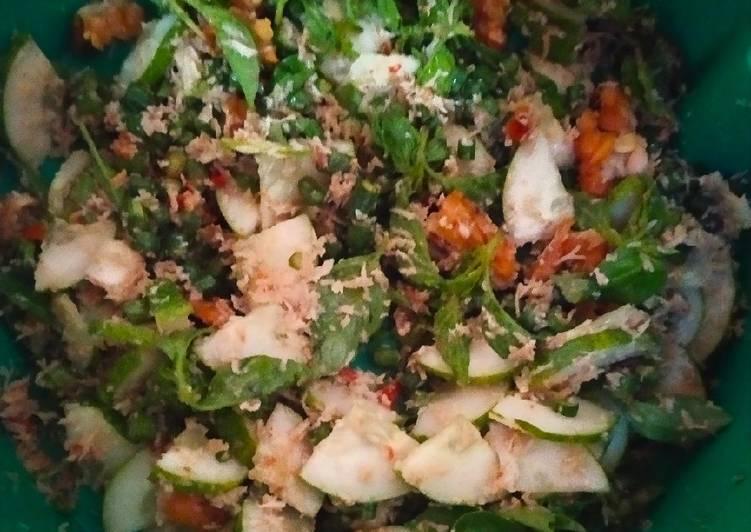 Resep: Terancam sayuran