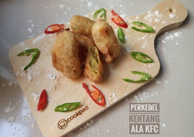 Resep Perkedel Kentang ala KFC