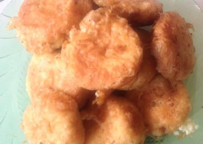 Resep Prekedel kentang ayam