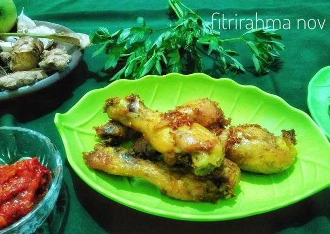 Resep Ayam ungkep goreng