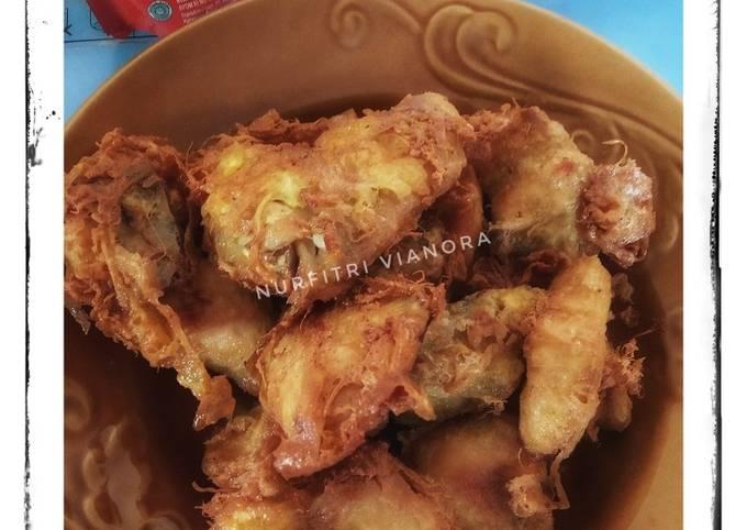 Resep: Ayam ungkep goreng Telur