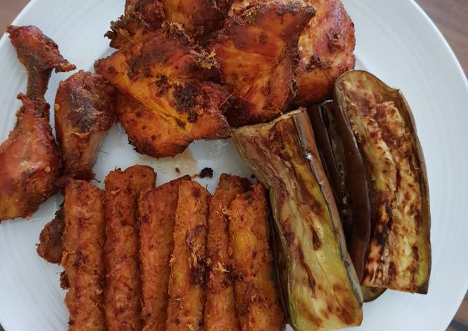 Resep Ayam ungkep goreng lengkuas
