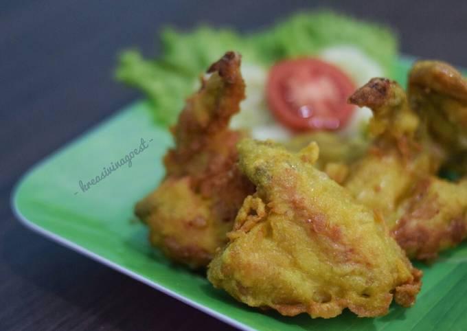 Resep Ayam Ungkep Goreng Kriuk Praktis #recook