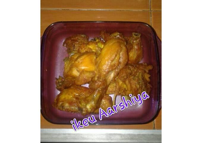 Ayam ungkep goreng