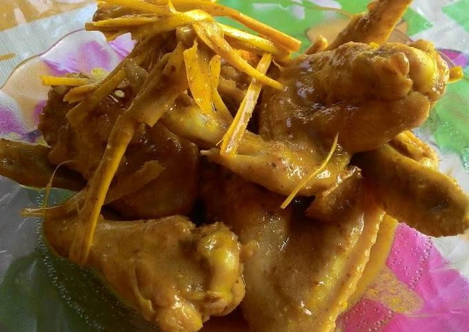 Resep: Ayam Ungkeb goreng