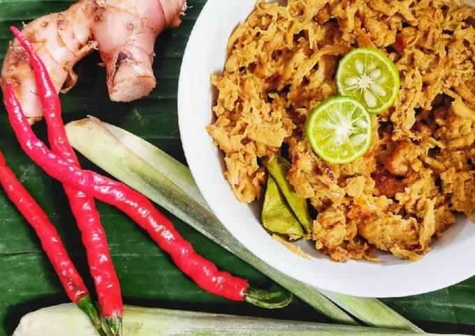 Resep: Ayam Suwir Kondangan ala Xander's Kitchen
