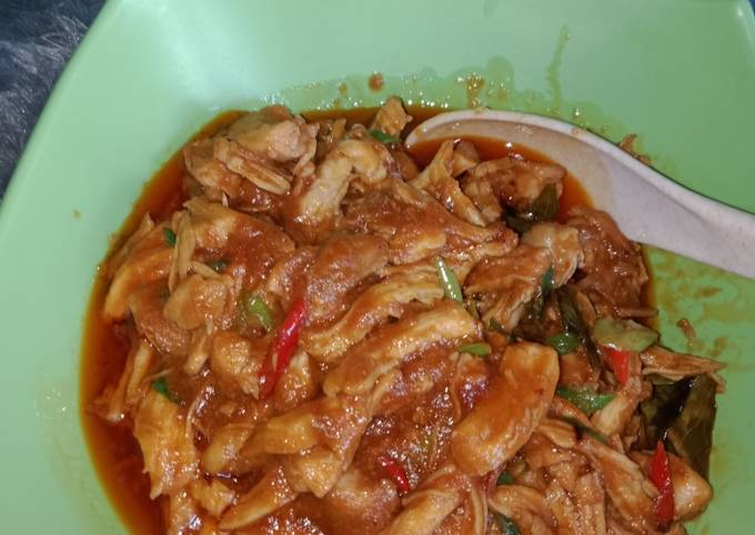 Resep Ayam suwir rumahan