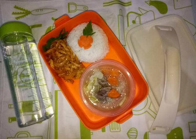 Resep: Ayam suwir wortel n sup iga