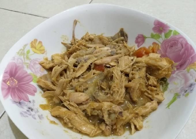 Resep: Ayam suwir