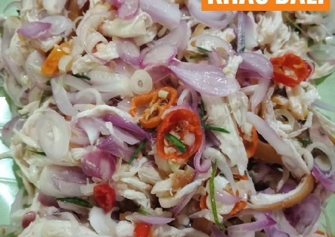Resep: Ayam Suir Sambal Matah khas Bali