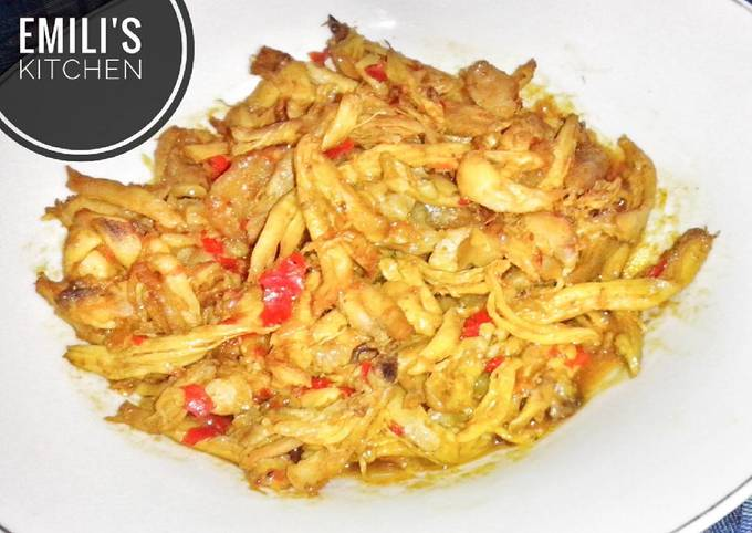 Resep Ayam Suwir Pedas ala Bali