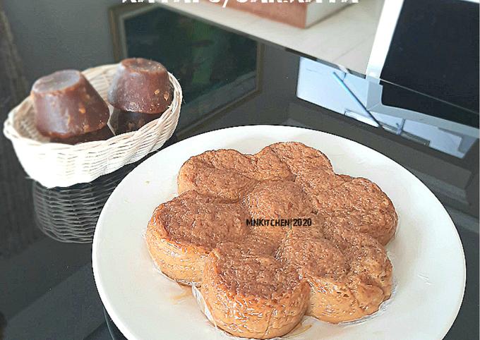Resep Bingka telur gula merah/kayapu/sarikaya