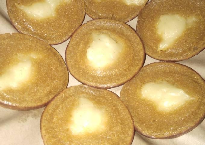 Resep Bingka gula merah (bingka gula habang)