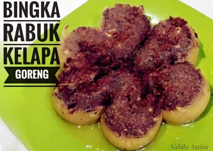 Resep: Bingka Rabuk Kelapa Goreng #rabubaru #bikinramadanberkesan #22