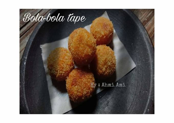 Resep: Bola-bola Tape