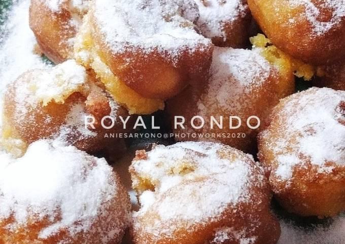 Resep: Royal Rondo alias Bola Tape Goreng (isi Keju)