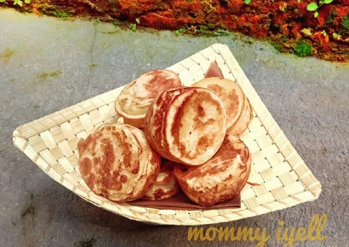 Resep: Kue mentok tape singkong/peuyeum bol(sunda)