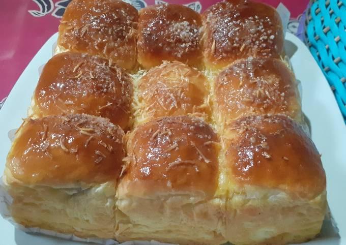 Resep Roti sobek 1 telur super lembut dan enak banget