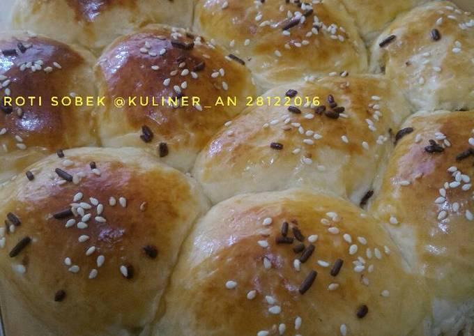 Resep: Roti Sobek Ukuran 1 loyang