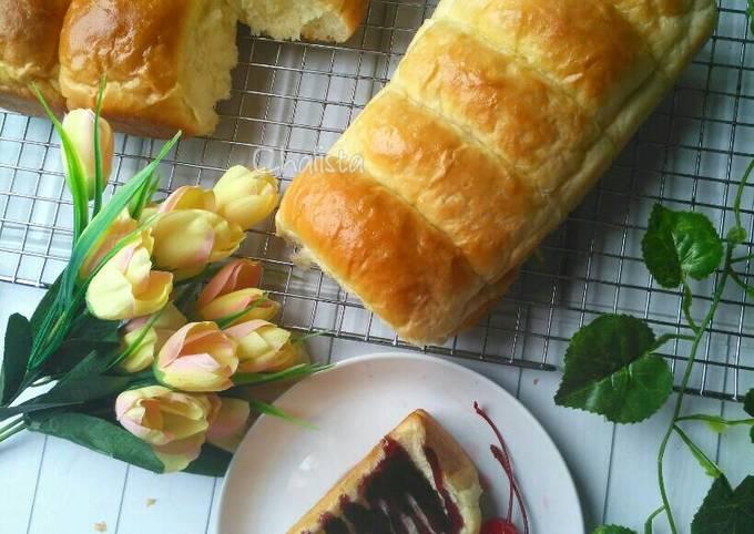 Resep: Roti sobek oke, donat juga oke 😁(overnight softbun)