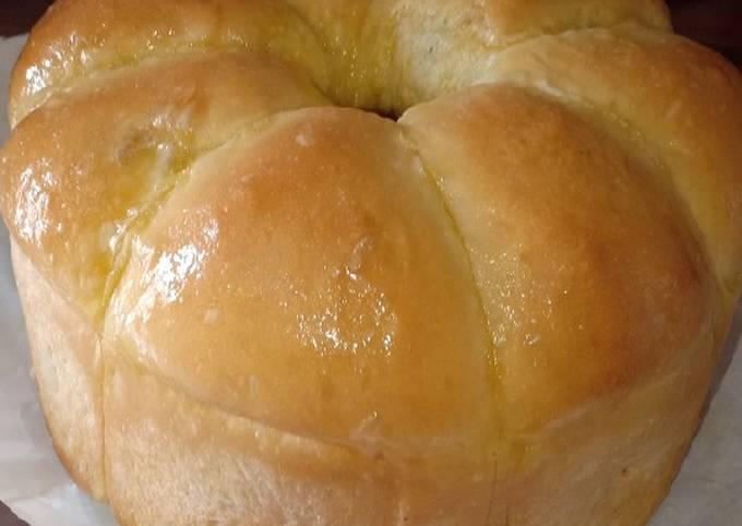 Resep: Roti sobek coklat, keju, mentega empuk dan menul-menul