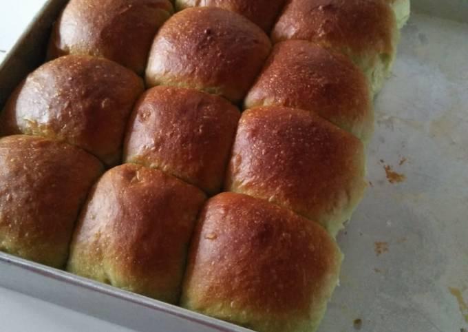 Resep Roti sobek pandan menul menul