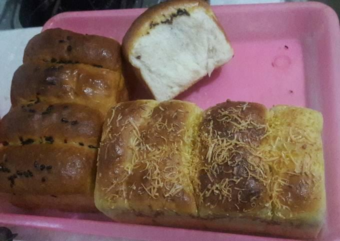 Resep Roti Sobek Menul tanpa telur