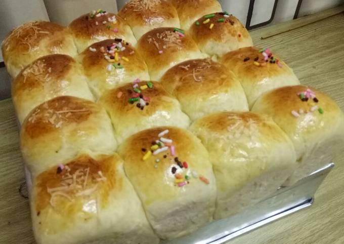 Resep: Roti sobek simple enak