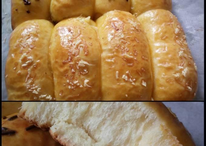 Resep: Roti sobek (pakai fibercreme)