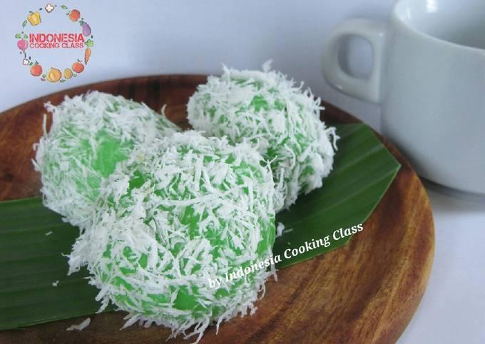 Resep: Resep klepon - kue tradisional - jajanan pasar - mudah