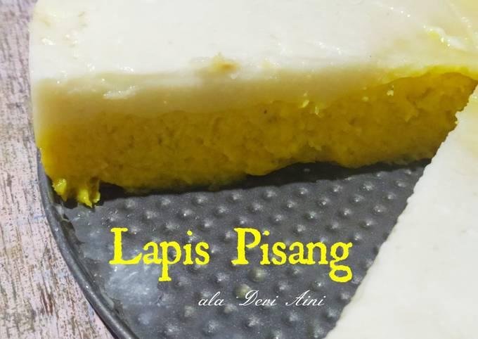 Lapis Pisang/ kue Talam Pisang