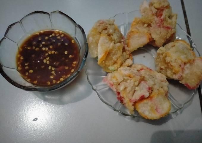 Resep Cipuk (cireng kerupuk)