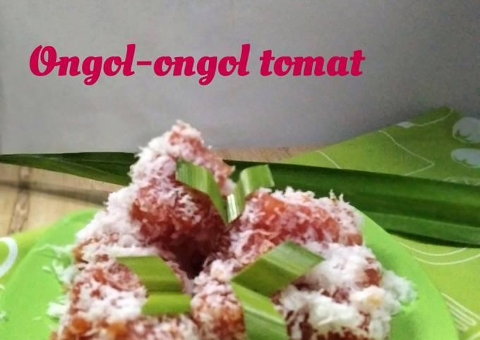 Resep *ongol-ongol tomat*