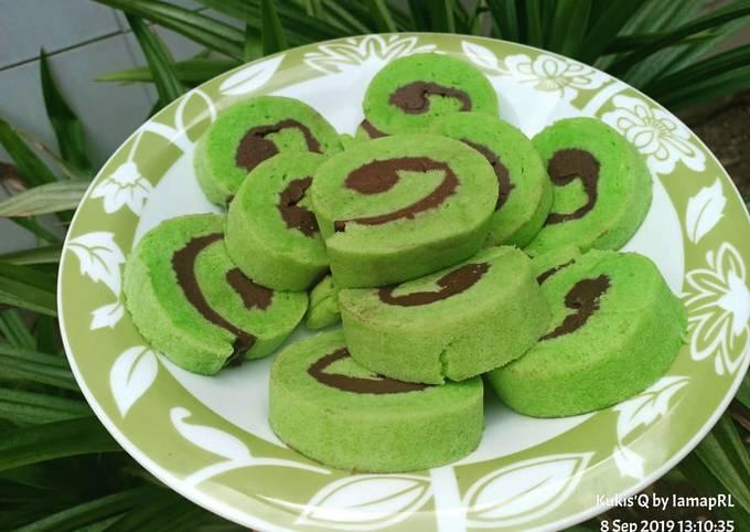 Resep Kue Roll / Bolu gulung